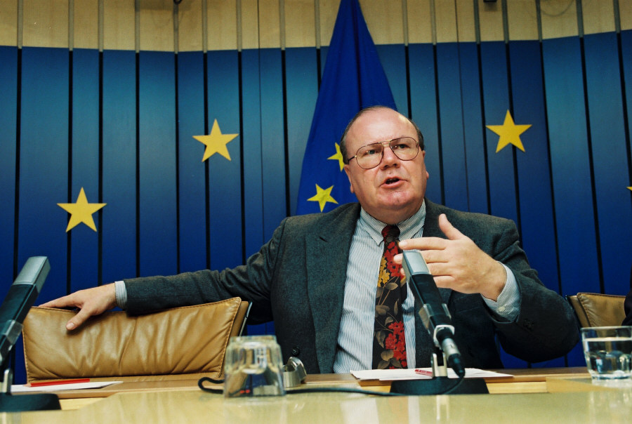 Martin Bangemann, Vice-President of the EC