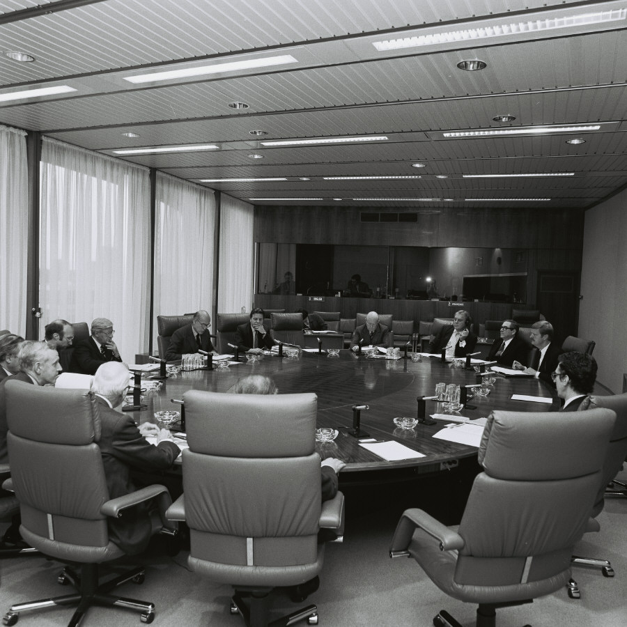 First meeting of the Committee for the Monetary Union of Europe