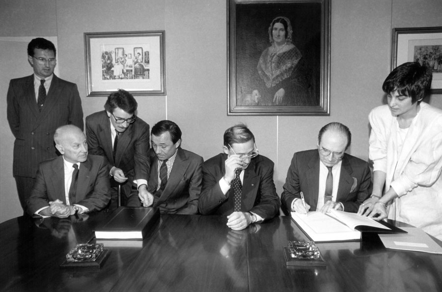Signing of a EEC-Andorra agreement