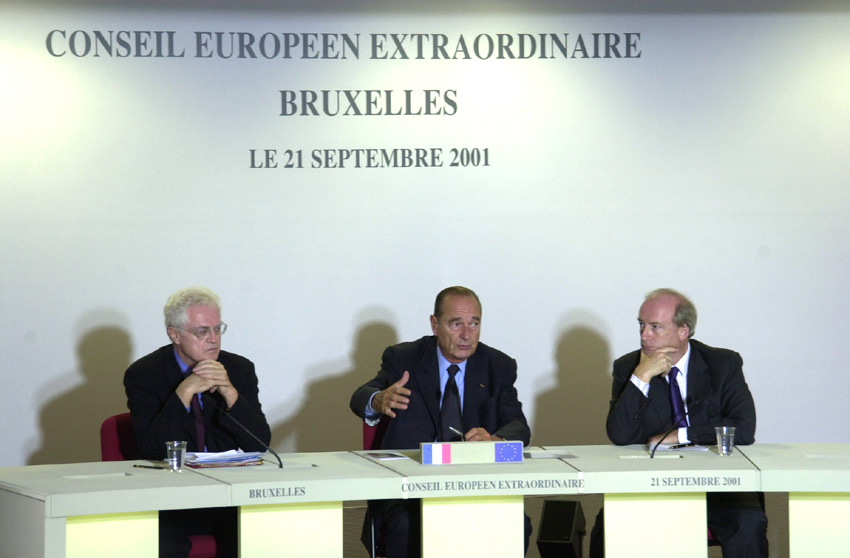 Brussels Extraordinary European Council, 21/09/2001