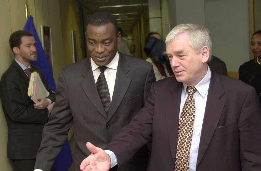 Visit of Affi N'Guessan, Prime Minister of the Côte d'Ivoire, to the EC