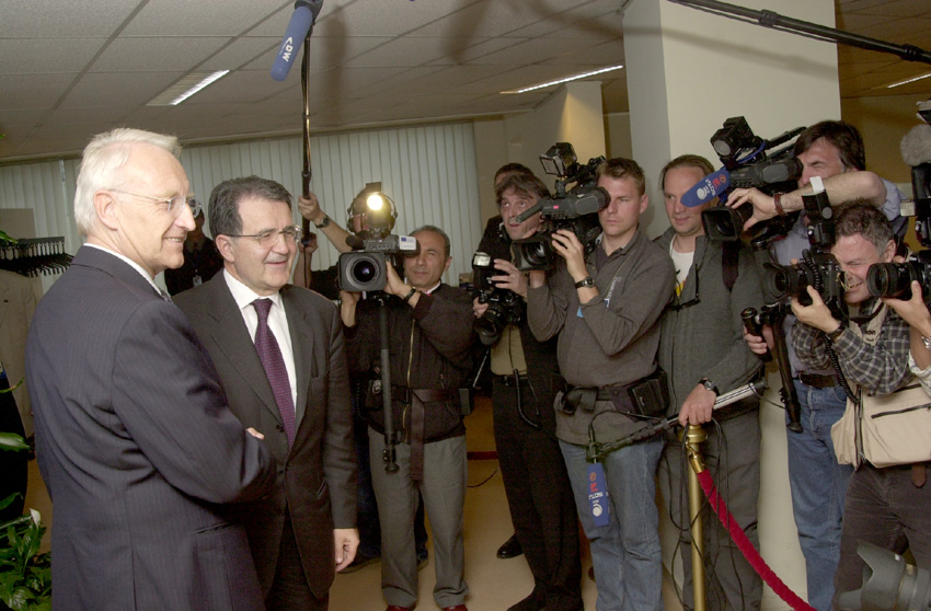 Visit of Edmund Stoiber, Minister President of the Land of Bavaria, to the EC