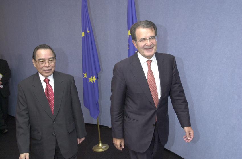 Visit by Phan Van Khai, Vietnamese Prime Minister, to the EC