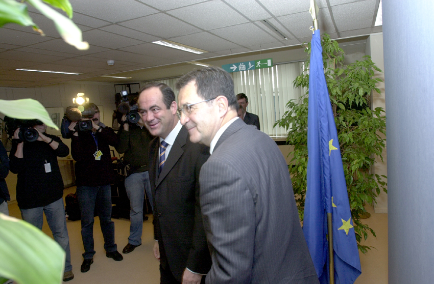 Visit of José Bono, President of the Region of Castilla-La Mancha, to the EC