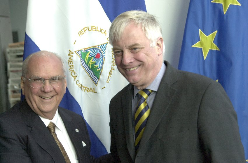 Visit of Enrique Bolaños Geyer, President of Nicaragua, to the EC