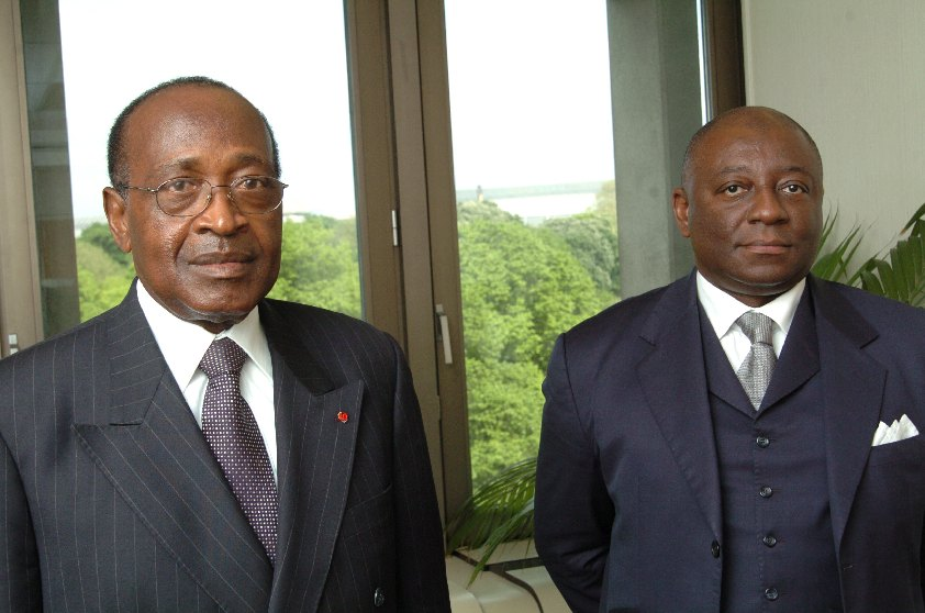 Visit of Martin Okouda and Ferdinand Léopold Oyono, Cameroonian Ministers, to the EC