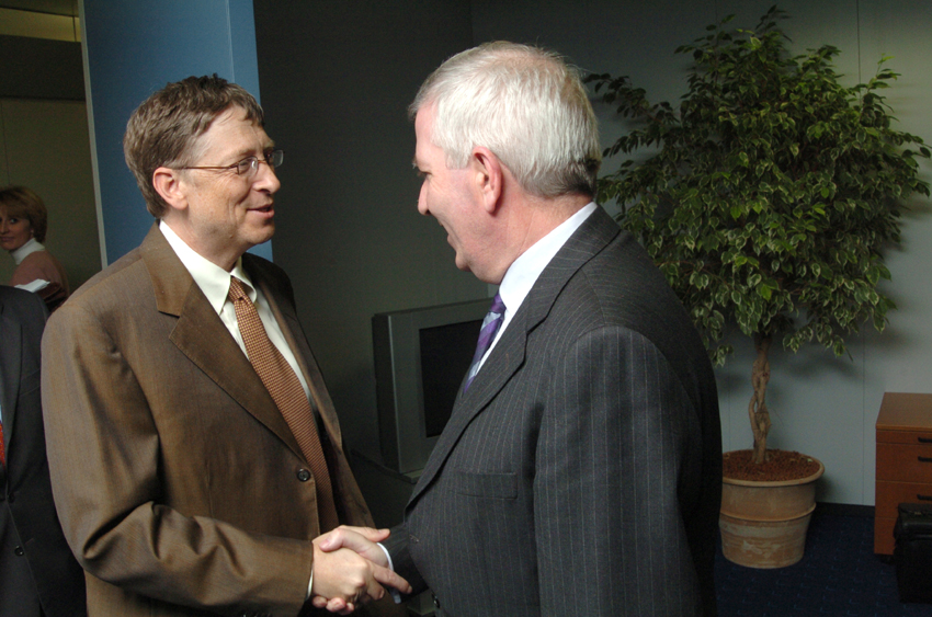 Visit of Bill Gates, Chairman of Microsoft, to the EC