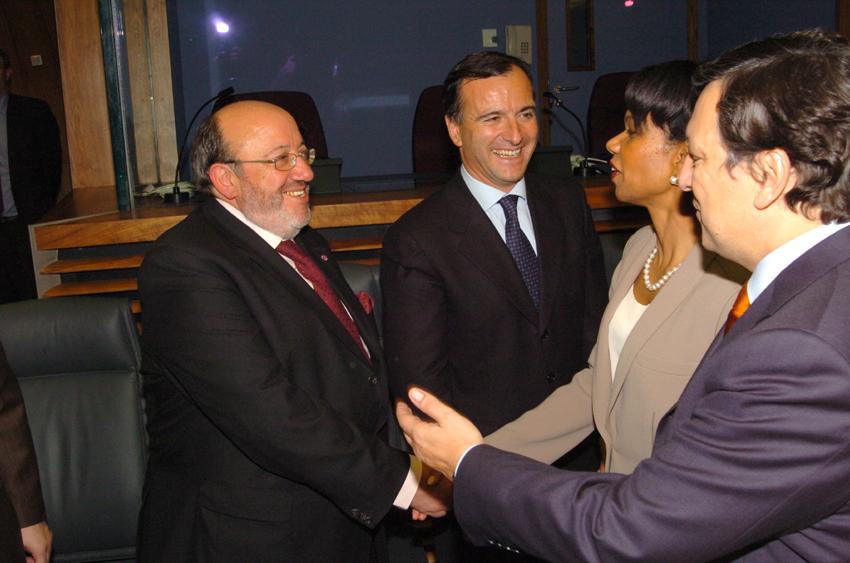 Visit of Condoleezza Rice, US Secretary of State, to the EC