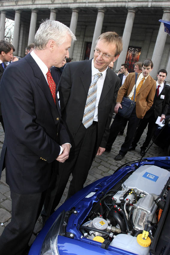 Janez Potocnik, Member of the EC, at the European Hydrogen and Fuel Cell Technology Platform (HFP) Event