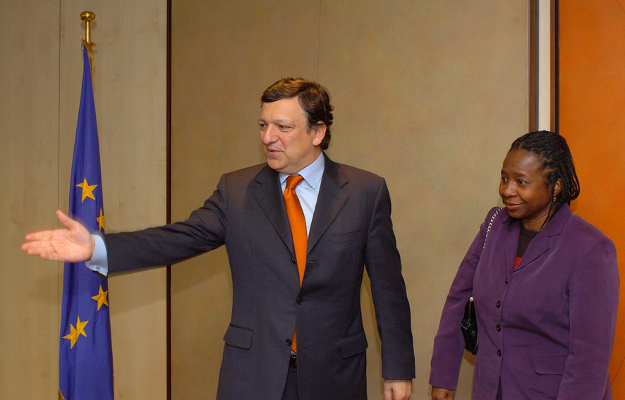 Visit by Alcinda Abreu, Mozambican Minister of Foreign Affairs and Co-operation, to the EC