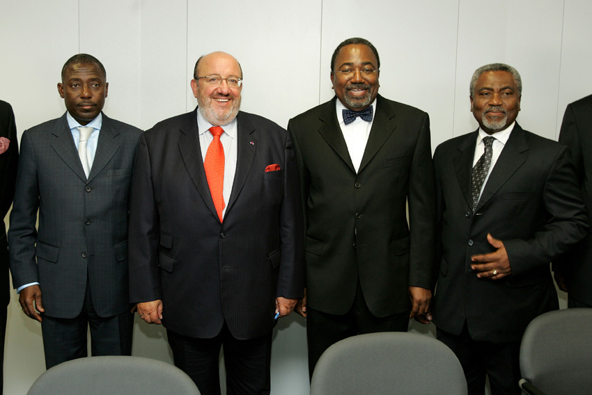 Visit of Rodolphe Adada, Congolese Minister of State, to the EC