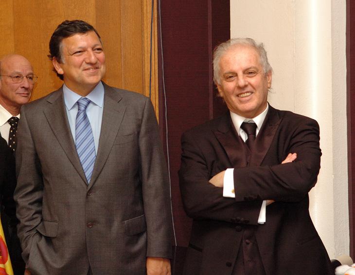 Meeting by José Manuel Barroso, President of the EC, with Daniel Barenboim