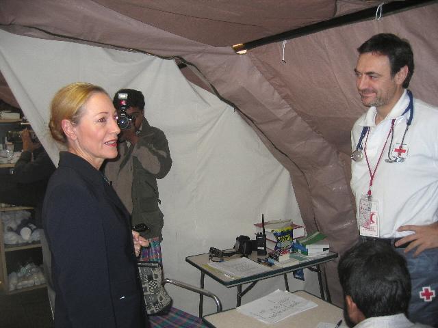 Visit by Benita Ferrero-Waldner, Member of the EC, to Pakistan