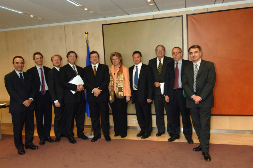 Visit by a delegation of the European Competitive Telecommunications Association (ECTA), to the EC