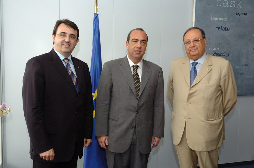 Visit by a delegation from the International Academy of Gastronomy to the EC
