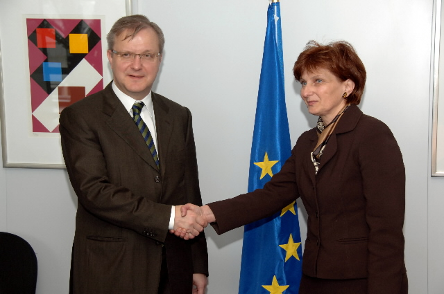 Visit by Ana Lovrin, Croatian Minister for Justice, to the EC