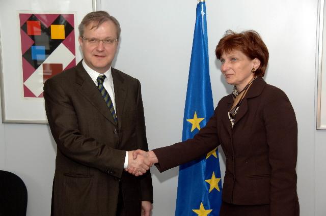 Visite d'Ana Lovrin, ministre croate de la Justice, à la CE
