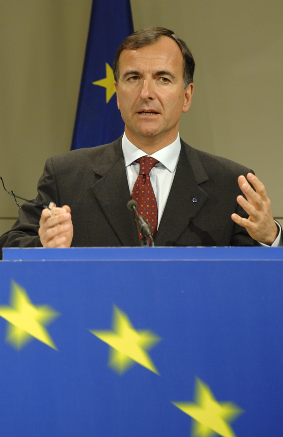 Press conference with Franco Frattini, Vice-President of the EC on the Green Paper: