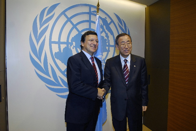 Visit by José Manuel Barroso, President of the EC, to New York