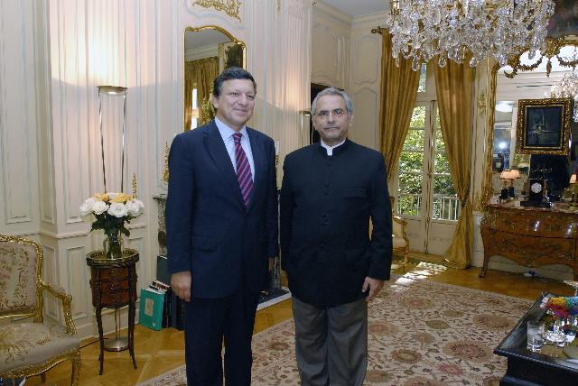 Visite de José Manuel Barroso, président de la CE, à New York