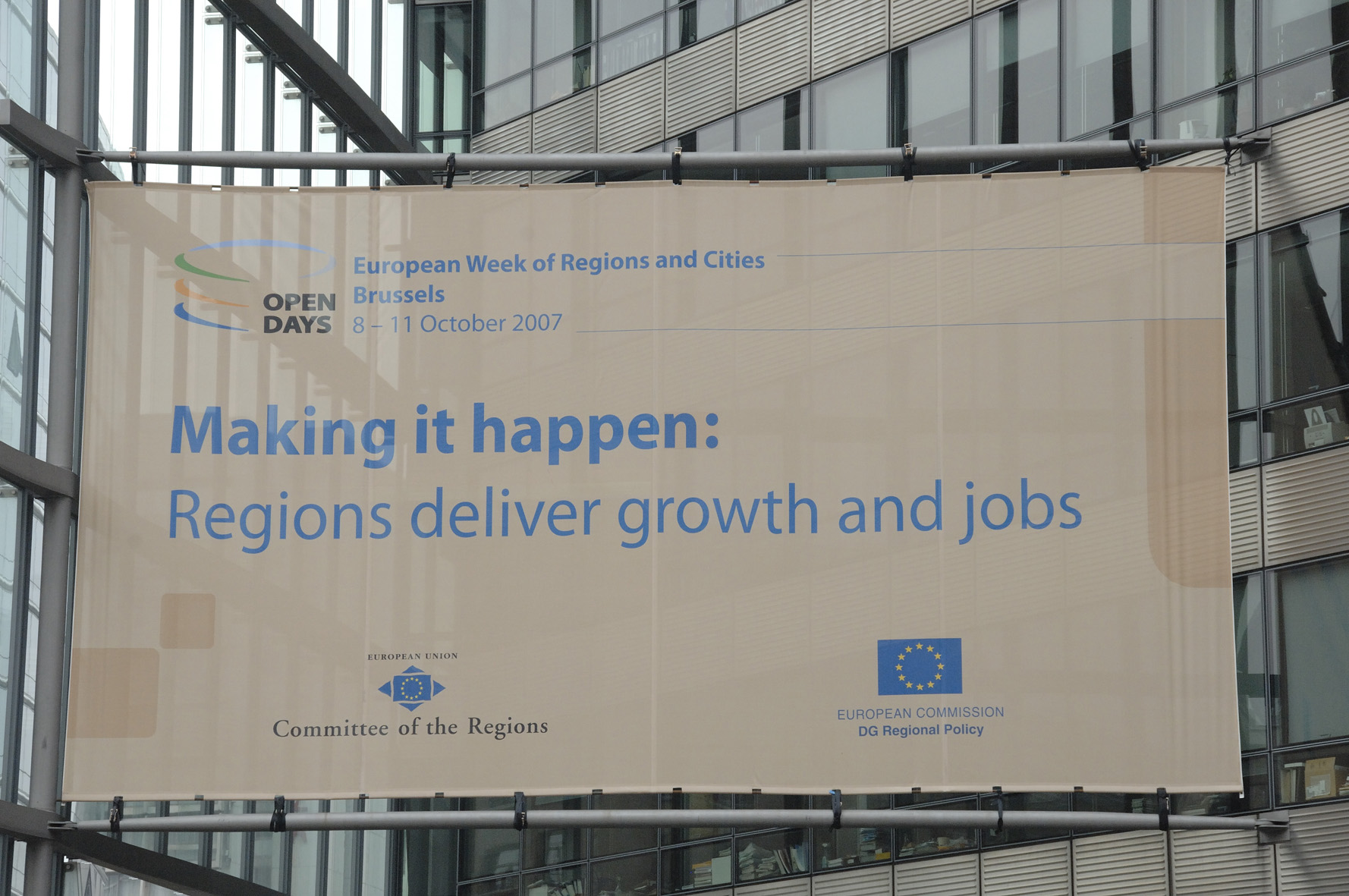 Opening of Open Days – European Week of Regions and Cities
