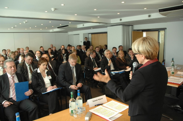 Participation of Danuta Hübner, Member of the EC, in a meeting of the Polish Union of Voivodeships