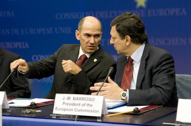 Participation of José Manuel Barroso in the Tripartite Social Summit