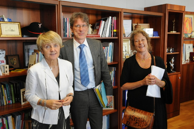 Visit by Eva Srejber and Matthias Kollatz-Ahnen, Vice-Presidents of the EIB, to the EC
