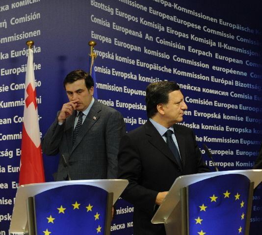 Visit of Mikhail Saakashvili, President of Georgia, to the EC