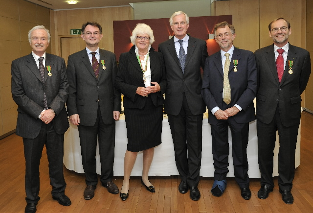Award of the title Commandeur du Grand Mérite Agricole to Mariann Fischer Boel, Member of the EC