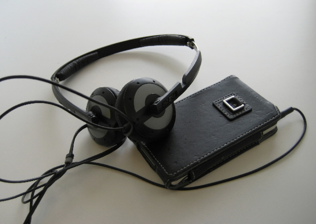 Un baladeur, walkman ou MP3