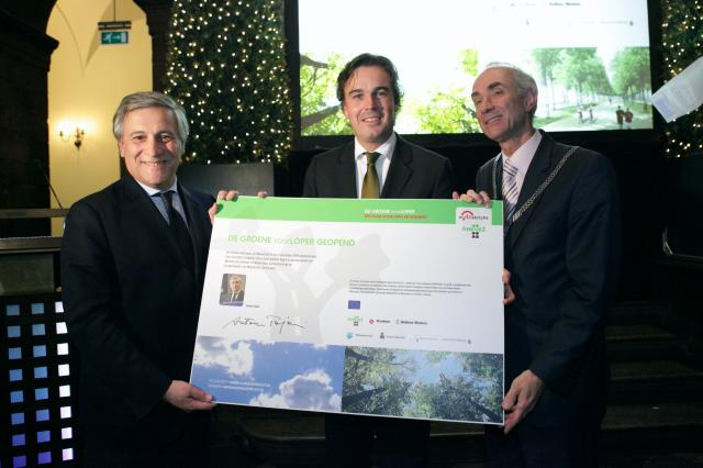 Participation of Antonio Tajani, Vice-President of the EC, at the inauguration of transport infrastructure project in Maastricht