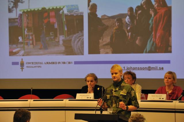 Participation of Margot Wallström, Vice-President of the EC, at the high-level conference on women, peace and security