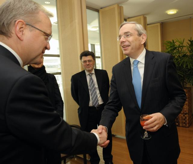 Visit of Thomas Mirow, President of the EBRD, to the EC