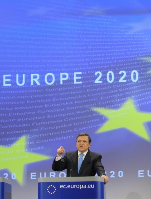 Press conference by José Manuel Barroso, President of the EC, on the Europe 2020 Strategy