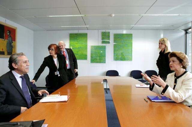 Visit of Diego López Garrido, Spanish Secretary of State for the European Union, to the EC