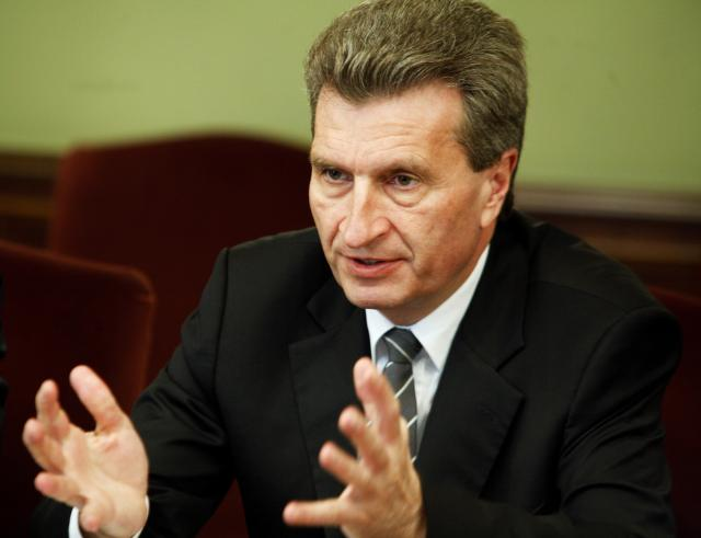 Visit of Günther Oettinger, Member of the EC, to Russia