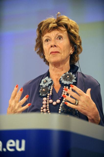 Press conference by Neelie Kroes, Vice-President of the EC, on the measures to deliver fast and ultra-fast broadband in Europe