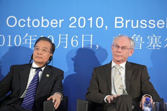 Participation de José Manuel Barroso, président de la CE, au sommet des Affaires UE/Chine