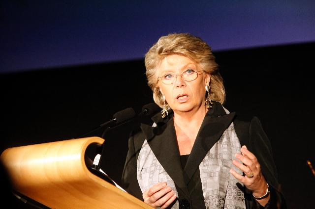 Participation of Viviane Reding, Vice-President of the EC, at the Golden Stars Award Ceremony