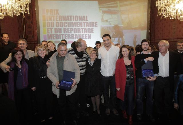 Award ceremony of the International Prize for Mediterranean Documentary and Reportage