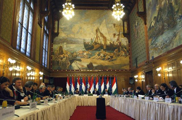 Inaugural meeting of the Hungarian Presidency of the Council of the EU with the EC