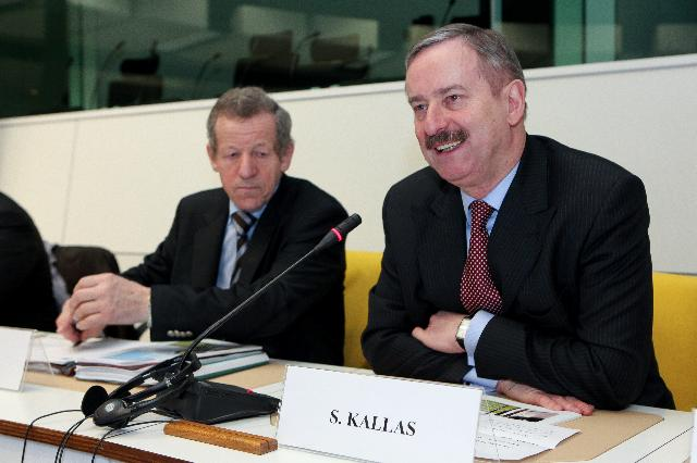 Participation of Siim Kallas, Vice-President of the EC, at the expert group meeting on future transport fuels