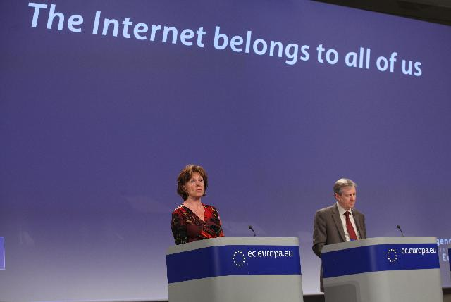 Press conference by Neelie Kroes, Vice-President of the EC, on the Net Neutrality