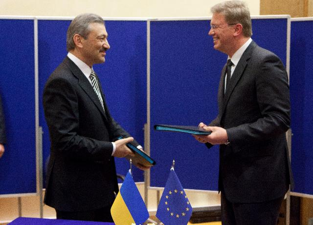 Visit of Vasyl Dzharty, Chairman of the Council of Ministers of the Autonomous Republic of Crimea, to the EC