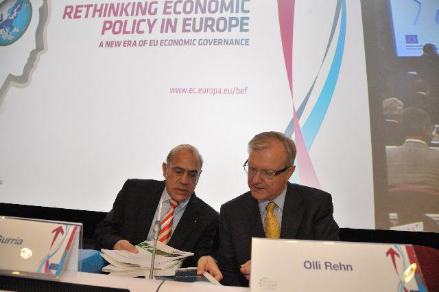 Participation of José Manuel Barroso, President of the EC, and Olli Rehn, Member of the EC, in the Brussels Economic Forum 2011
