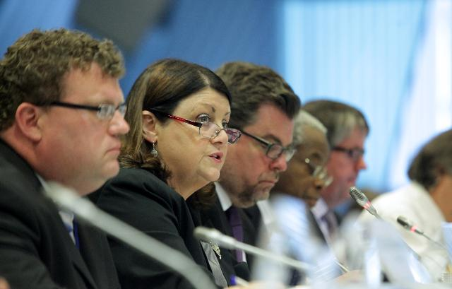 Participation of Máire Geoghegan-Quinn, Member of the EC, at the consultation event of the international dimension of the future EU research and innovation funding
