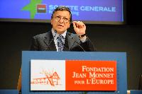 Participation of José Manuel Barroso, President of the EC, at the award ceremony of the gold medals of the Jean Monnet Foundation for Europe