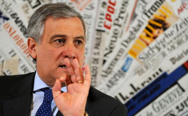 Press conference by Antonio Tajani, Vice-President of the EC, on Industrial competitiveness
