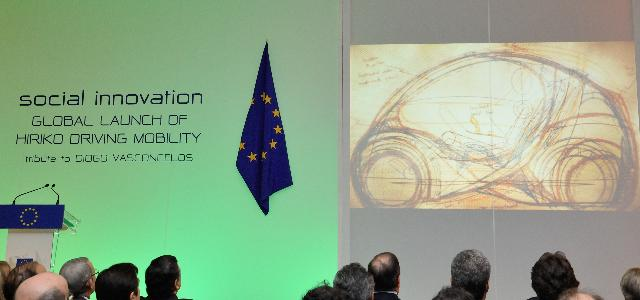 Participation of José Manuel Barroso, President of the EC, in the Global launch of Hiriko driving mobility